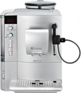 Bosch TES50351DE Kaffee-Vollautomat VeroCafe Latte (1.7 l, 15 bar, externes Milchsystem) silber